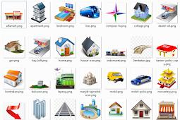 Gratis download icon untuk denah lokasi
