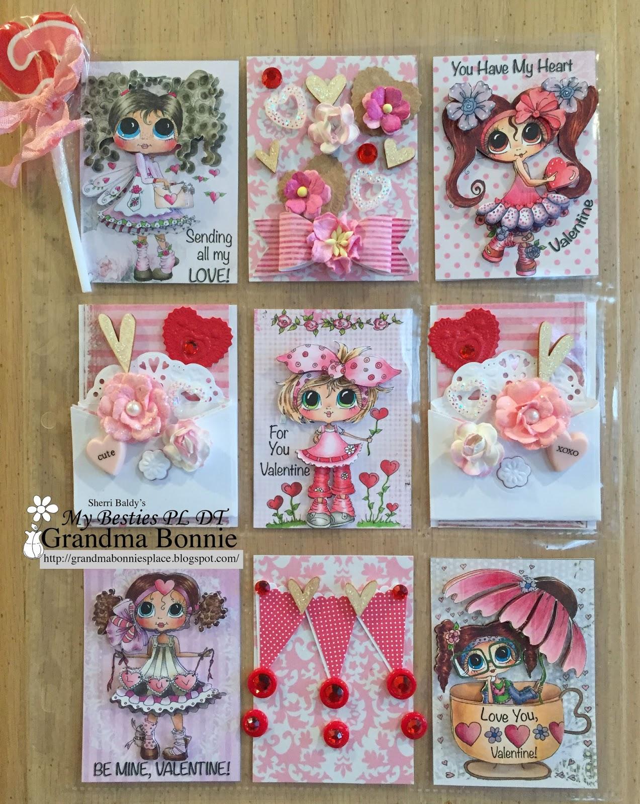 Grandma Bonnie S Place Valentine Pocket Letter Or Mini Valentine Cards