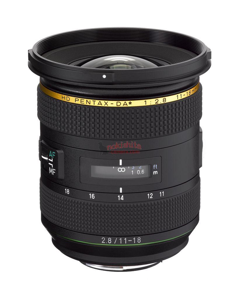 HD PENTAX-DA ★ 11-18mm f/2.8
