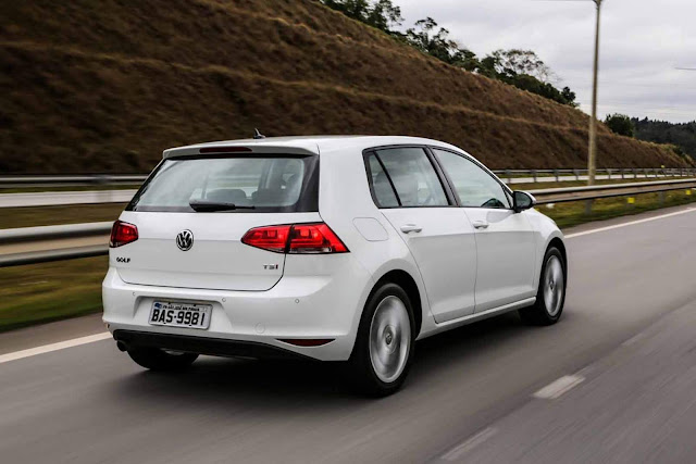 VW Golf 2017 - plano de revisões