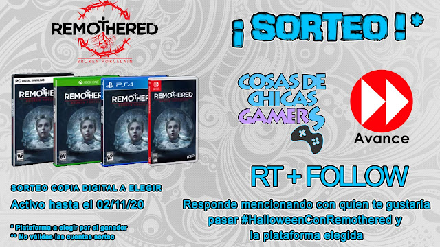 Sorteo Remothered Broken Porcelain con Chicas Gamers