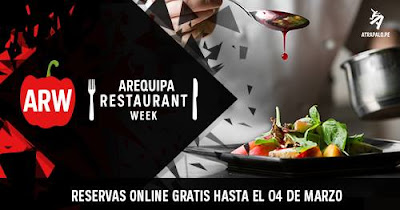 Arequipa Restaurant Week