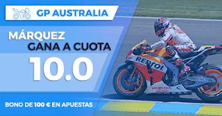 Paston Megacuota Márquez gana MotoGP Australia 2017 22 octubre
