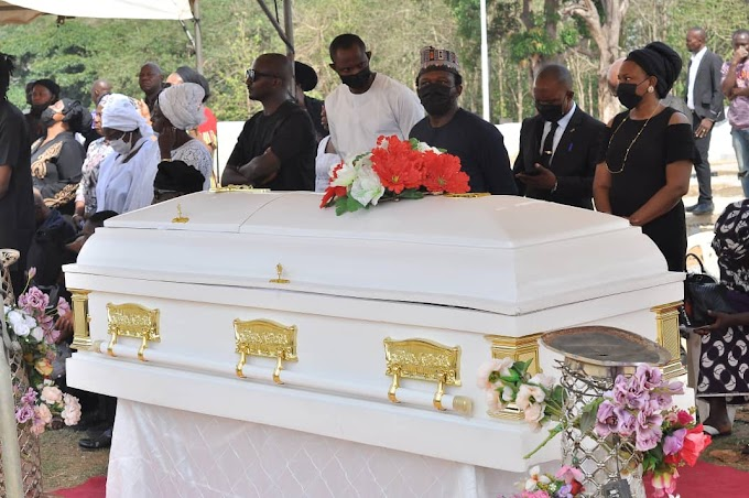 Tears, Sorrow And Pain As Award Winning Media Practitioner, Rachel Bakam Is Buried In Abuja
