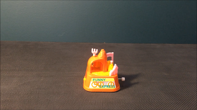 1980s Old Day Retro Train Express Toy