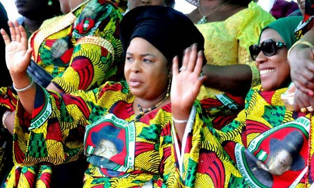 PDP and President Goodluck is the messiah- Dame Patience Jonathan
