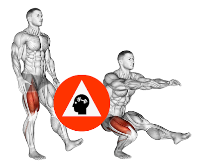 exercice musculation pistol squat sur une jambe