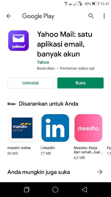 Buka Aplikasi Yahoo