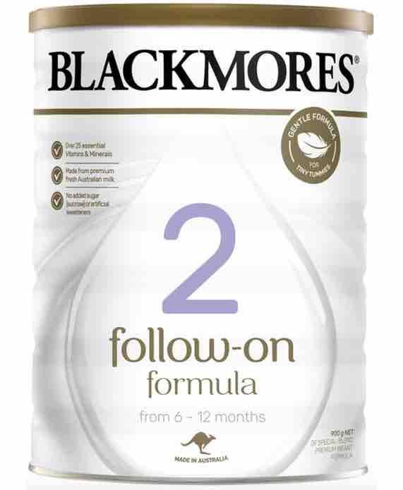 Blackmores Follow On Formula 900g - cho trẻ sơ sinh từ 6 đến 12 tháng tuổi