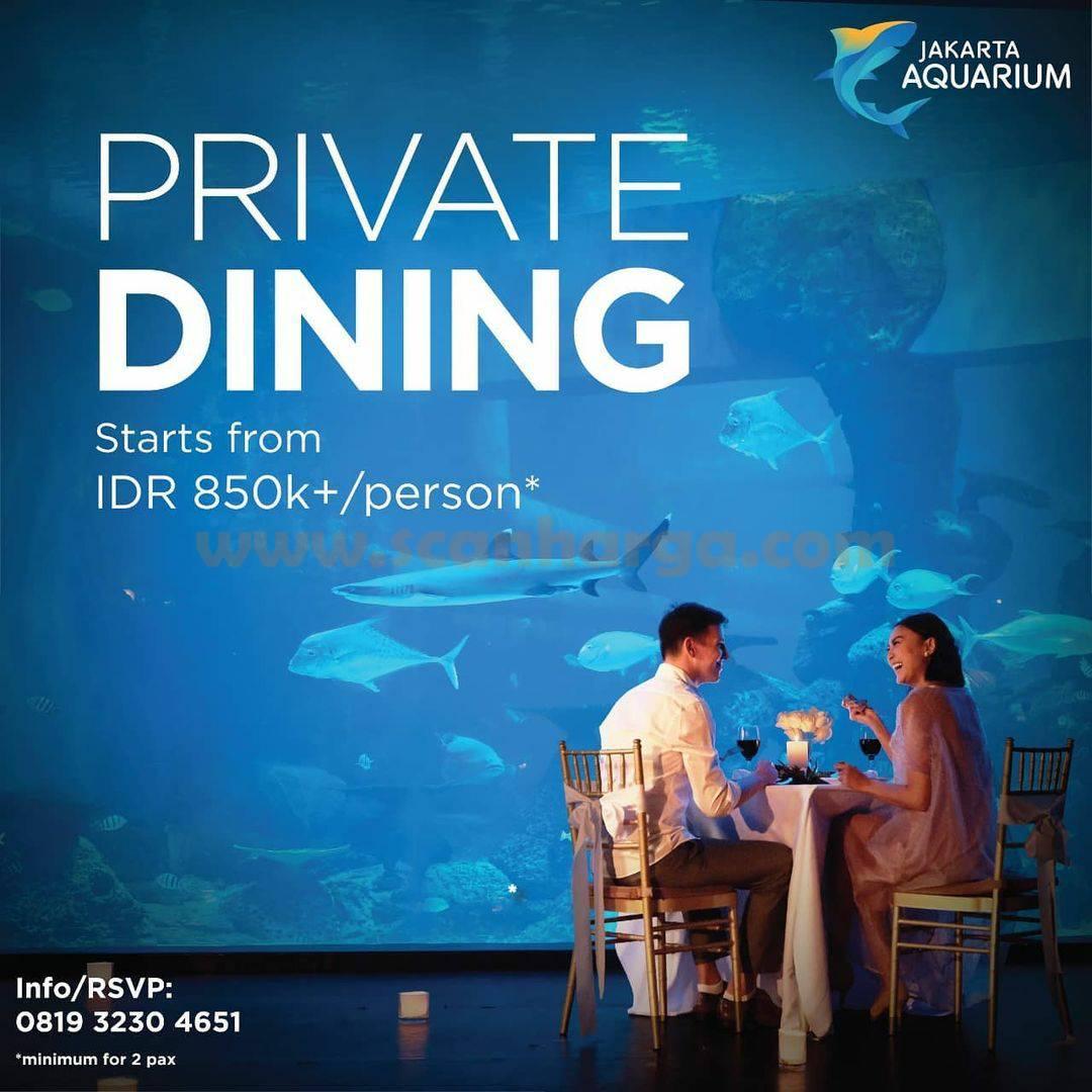 Promo Jakarta Aquarium Private Dining Start From IDR 850K+ /person*