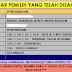 Semakan Online Daftar Pemilih Pilihan Raya | PRU14