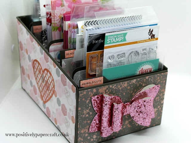 Positivelypapercraft Craft room storage tutorials