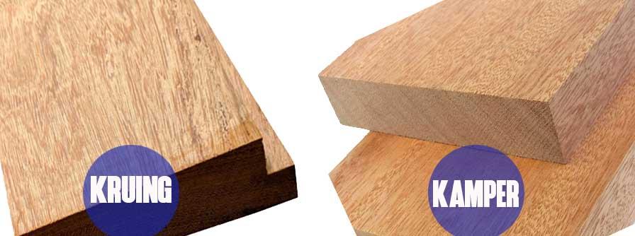 kayu kruing VS kayu kamper
