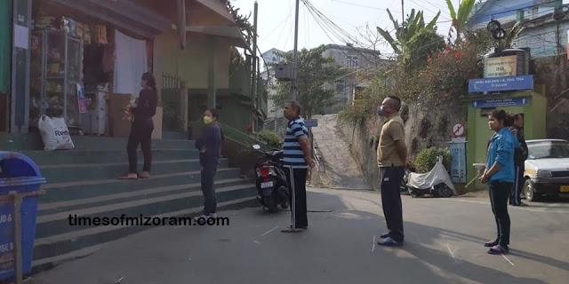 Socia Distancing Mizoram