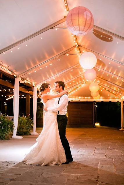 Lighted Tent Last Dance