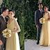 Sarah Geronimo and Matteo Guidicelli random photos at Matteo's sister wedding