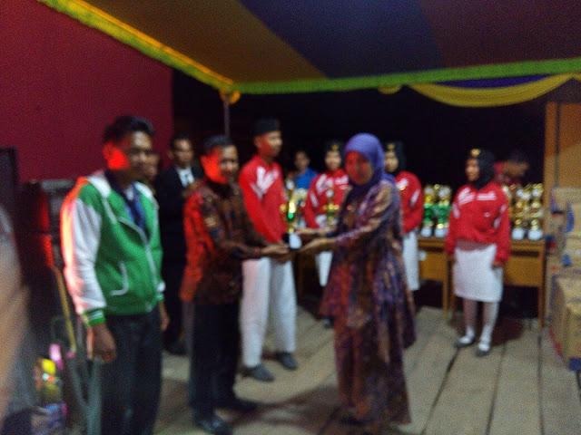 Meriah, Malam Resepsi Peringatan HUT RI Kecamatan Rantau Panjang