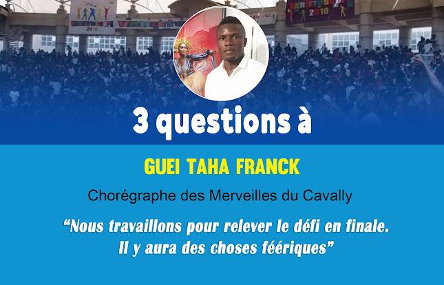 3 Questions à... Guei Franck (Chorégraphe des Merveilles de Cavally)