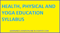 health physical and yoga education aims objectives and importance