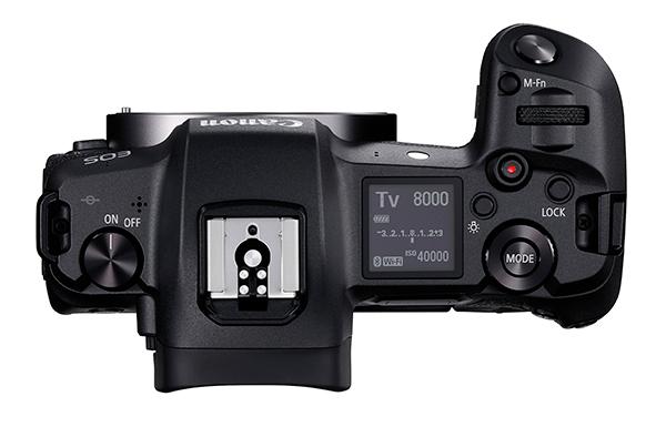 Canon EOS R Top View