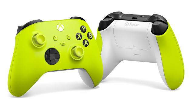 Xbox Wireless Controller Electric Volt Yellow