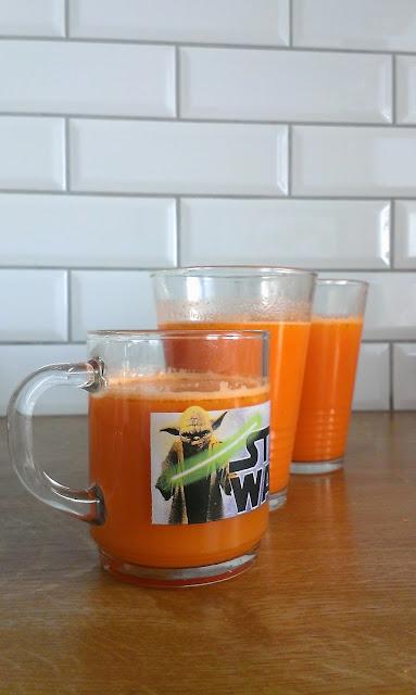 sok z marchewki i gruszki