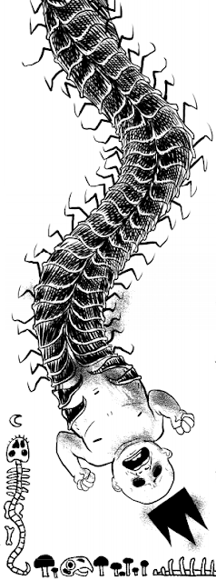Tyrant Centipede, one of the monsters