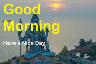 good morning shiva lord