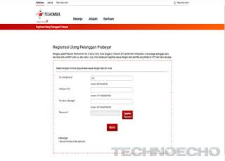 cara registrasi ulang kartu prabayar telkomsel