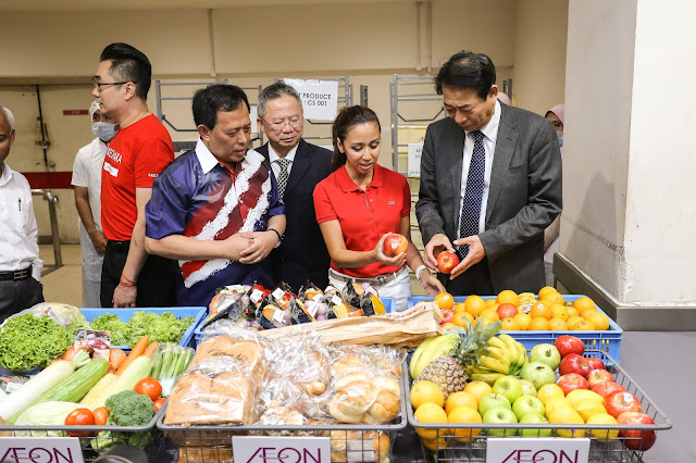 AEON's Community Food Share Programme