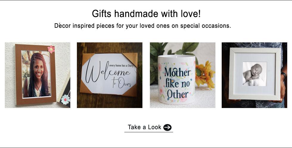 Buy custom, handmade personalised gift items in Port Harcourt Nigeria