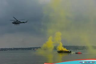 Koarmada II Gelar Latihan Sea Survival, Latih Prajurit Bertahan di Situasi Darurat
