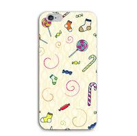custom case polkadot kartun cantik