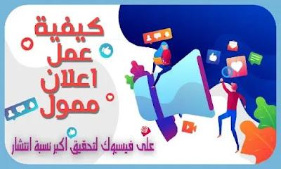 حملة اعلانية على فيسبوك