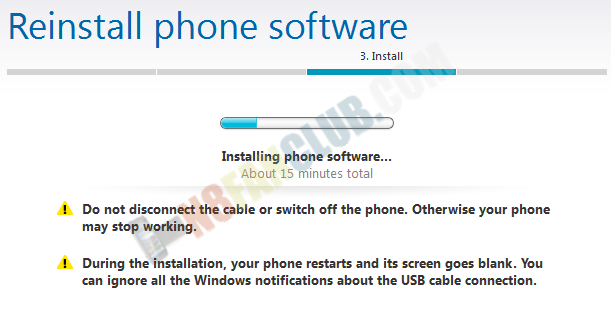 How to re-install Nokia firmware with Nokia Suite or Flash