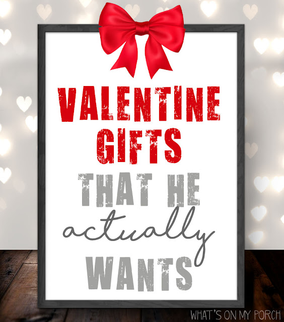 Gift ideas for a guy... that he really wants!