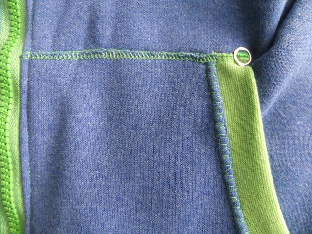 Bandito in blau-grün