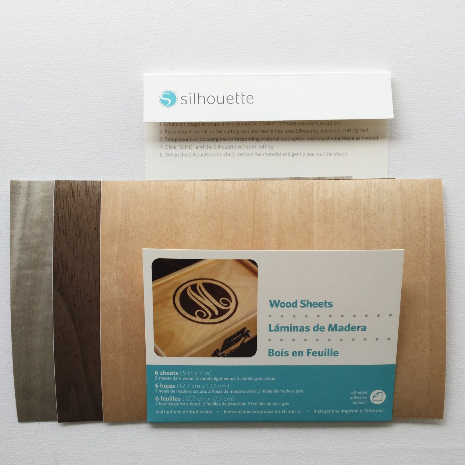 Silhouette UK Using NEW Wood Sheets to Make a Mama Bear Picture