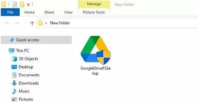 Cara Menambahkan Google Drive ke File Explorer di PC Windows 10-1