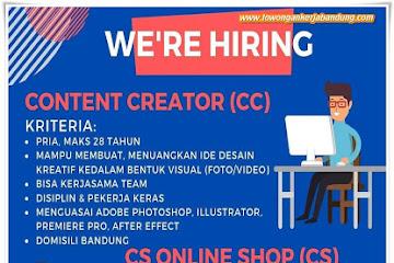 Lowongan Kerja Bandung Karyawan TSD Store