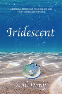 Iridescent book cover