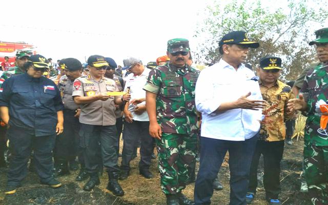 Wiranto Tuding Ada Modus Politik Terkait Karhutla di Kalimantan