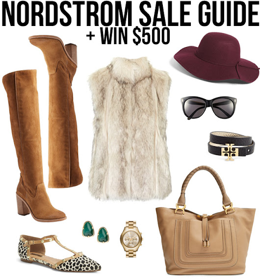 Nordstrom Anniversary Sale + $500 Giveaway