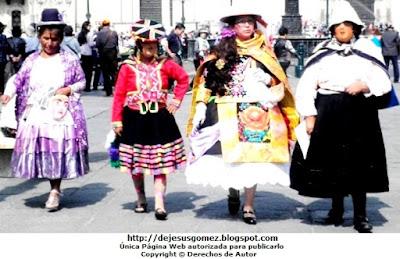 Foto de personajes mujeres de la Tunantada por Jesus Gómez