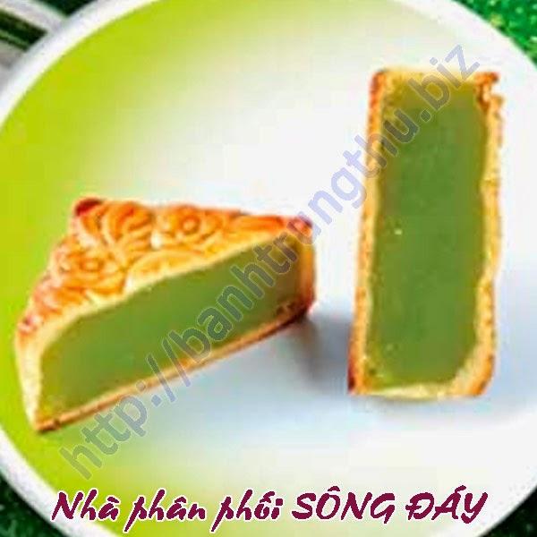 Bánh trung thu Kinh Đô nướng đậu xanh lá dứa chiết khấu cao