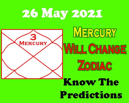 Mercury transit in Gemini 26 may, predictions