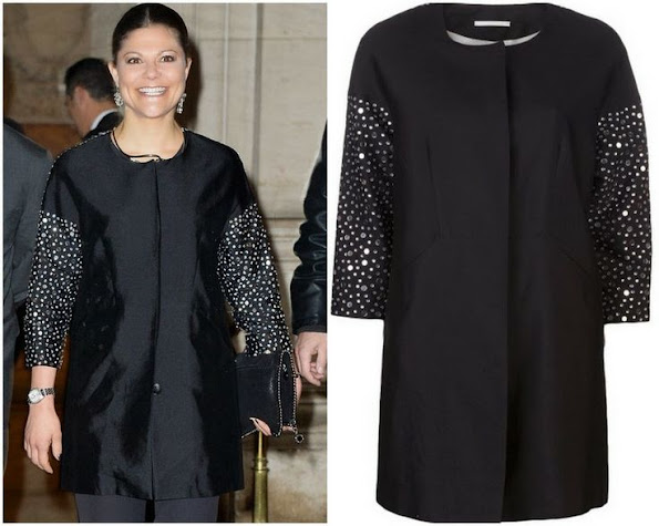 Crown Princess Victoria of Sweden wore By Malene Birger Coat