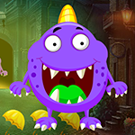 Games4King Cartoon Vast Creature Escape