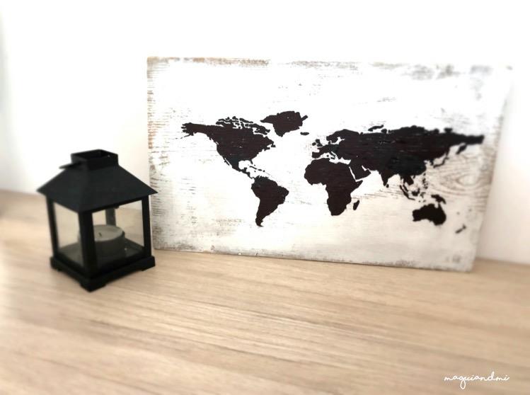 INSPIRACION. Decora tu casa con mapamundis