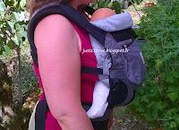review test avis Ergobaby Performance filet portage babywearing préformé porte-bébé truc juste coussin réducteur cocon